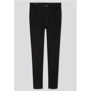 Uniqlo Black High Rise Stretch Jeans Size 32X34